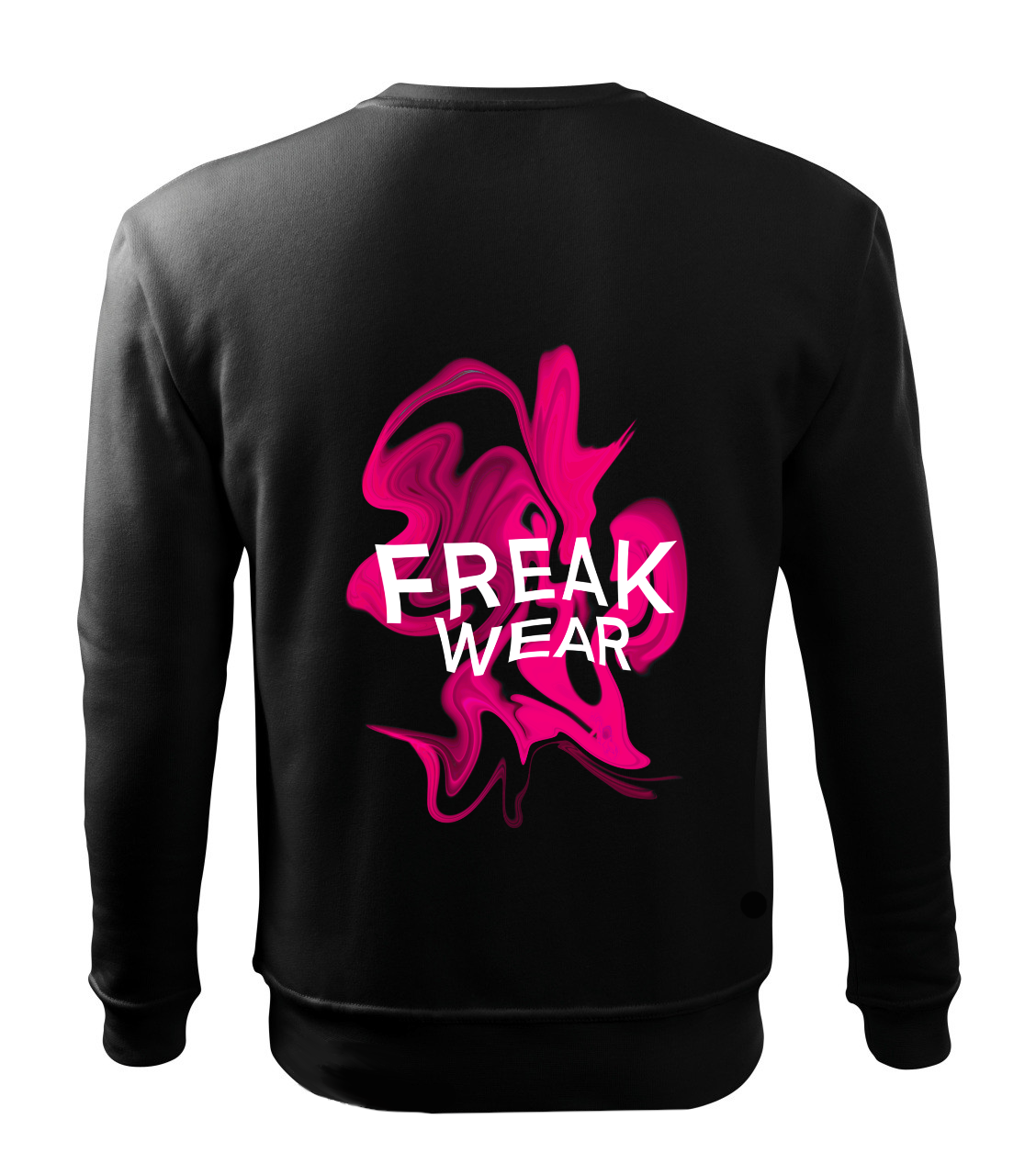 Mikina Freak Wear bez kapuce K pink
