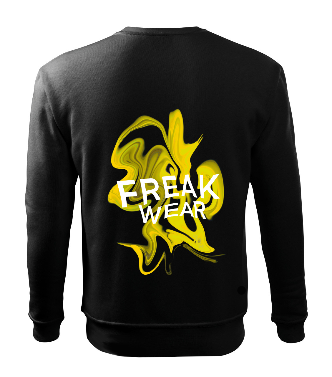 Mikina Freak Wear bez kapuce K yellow