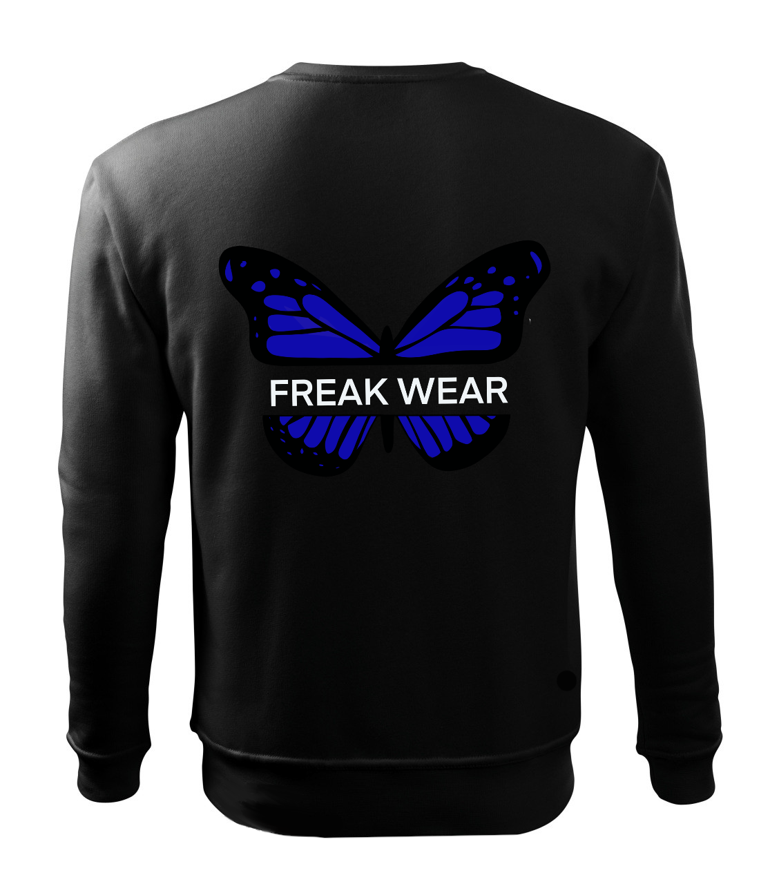 Mikina Freak Wear bez kapuce B dark blue