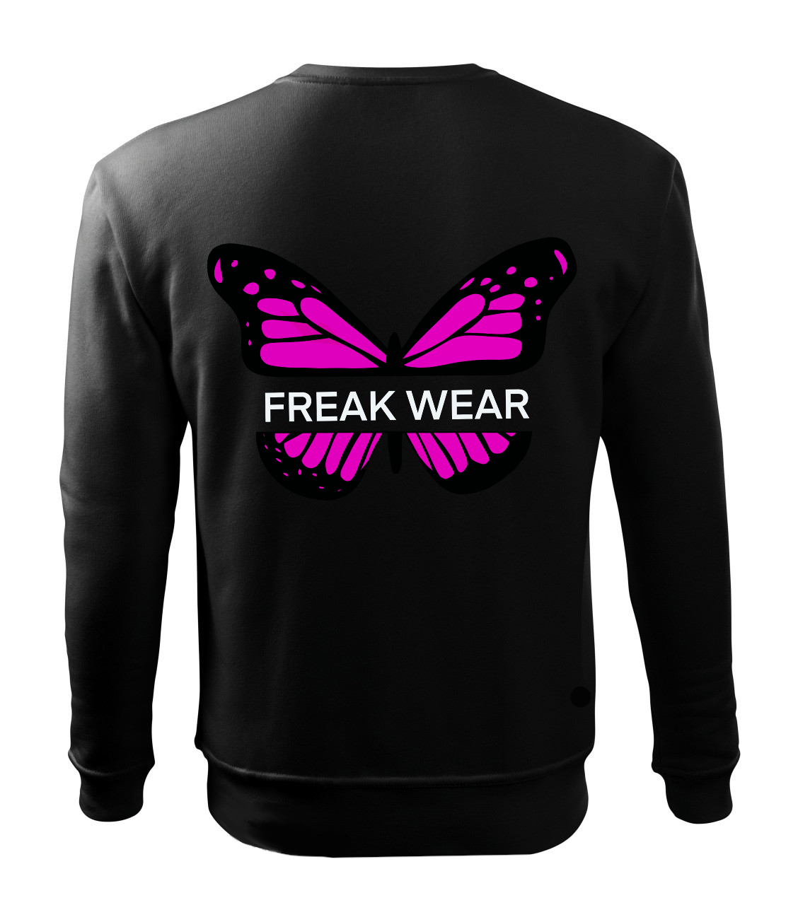 Mikina Freak Wear bez kapuce B  pink