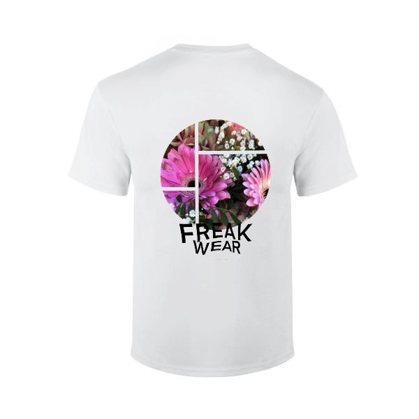 Tričko Freak Wear bíle Flower 3