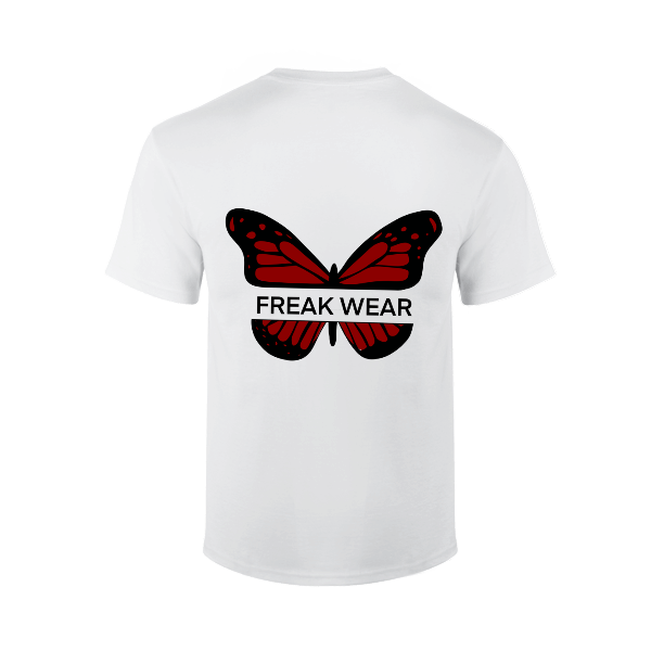 Tričko Freak Wear B red bíle