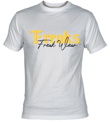 Tričko Freaks Yellow W