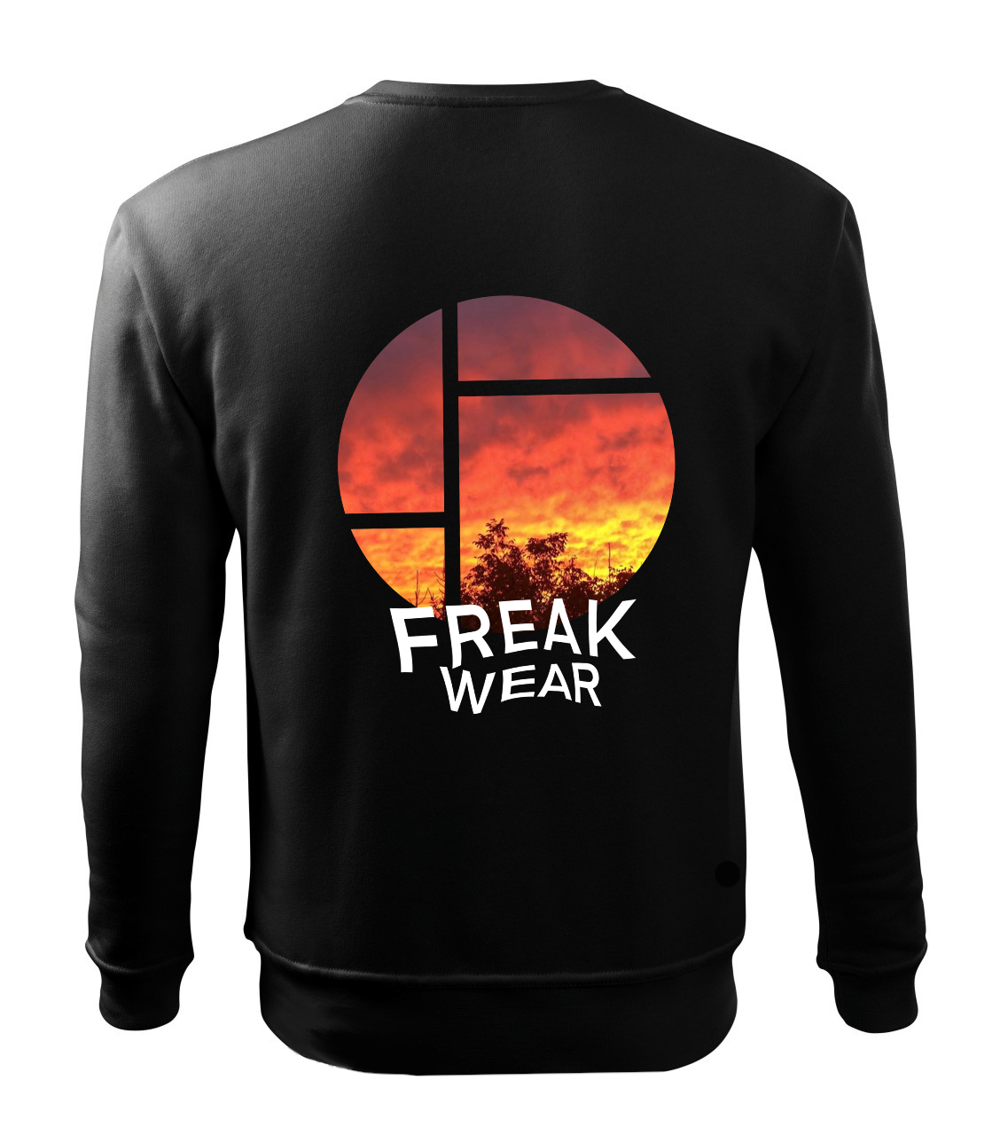 Mikina Freak Wear bez kapuce Sun