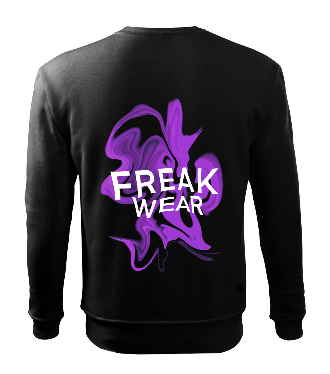 Mikina Freak Wear bez kapuce K purple