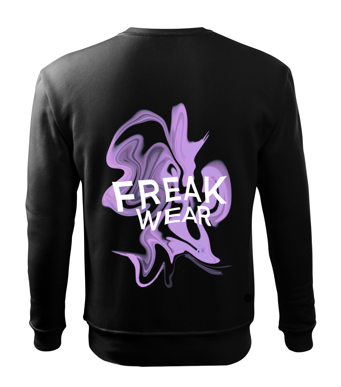 Mikina Freak Wear bez kapuce K light purple