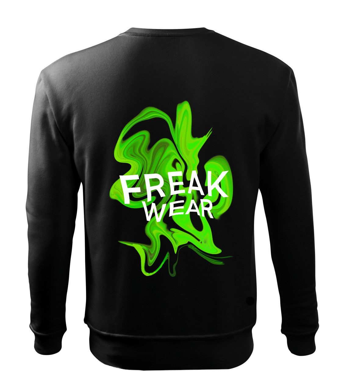 Mikina Freak Wear bez kapuce K green