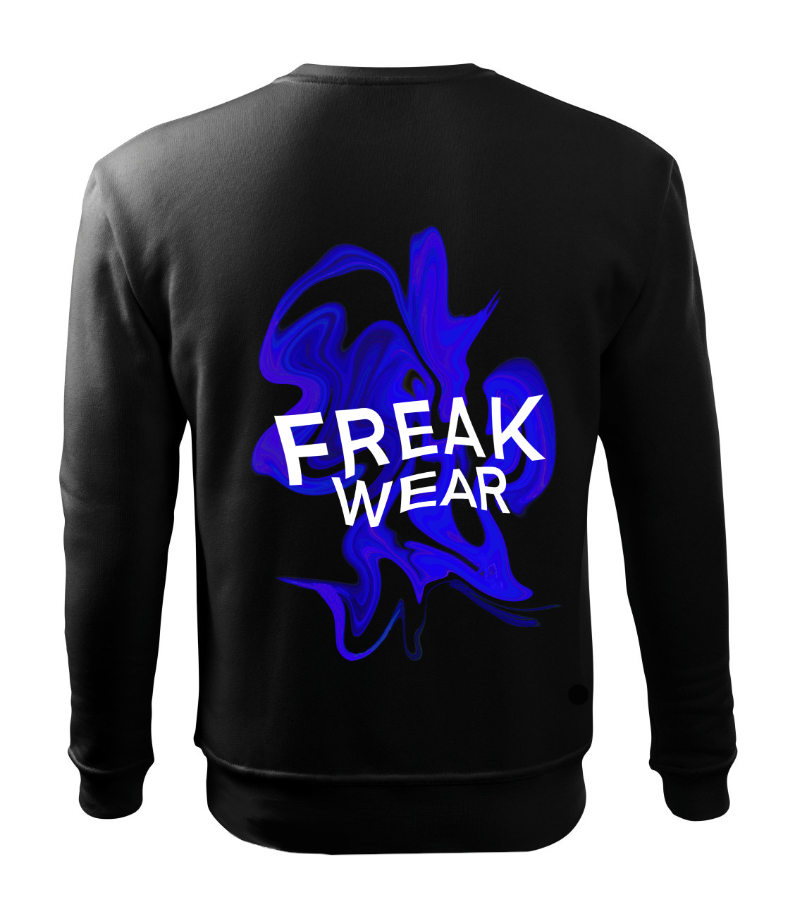 Mikina Freak Wear bez kapuce K dark blue
