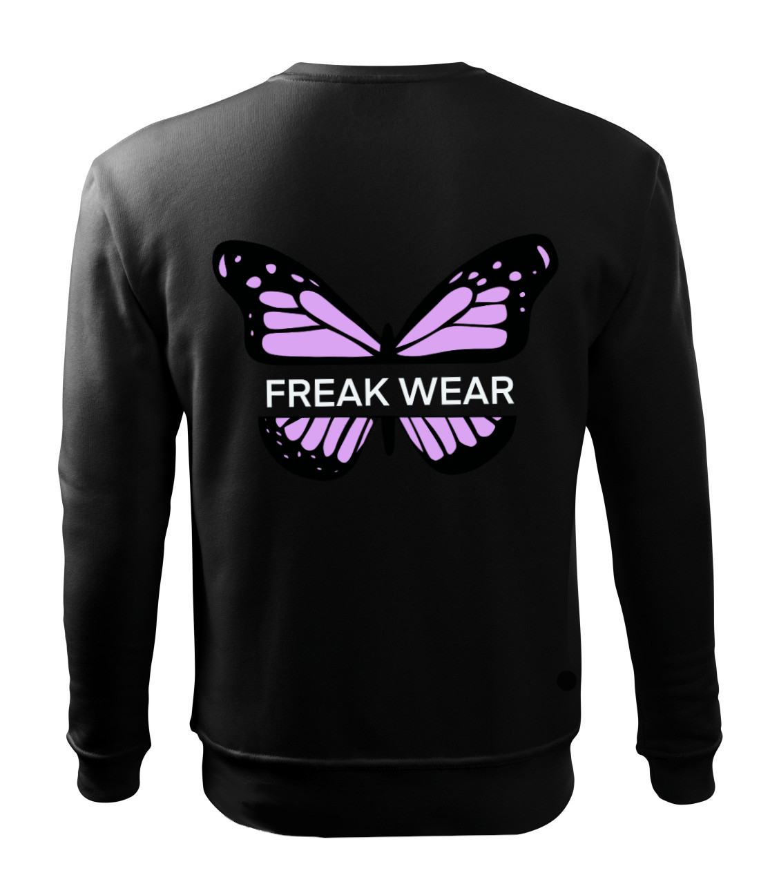 Mikina Freak Wear bez kapuce B light pink