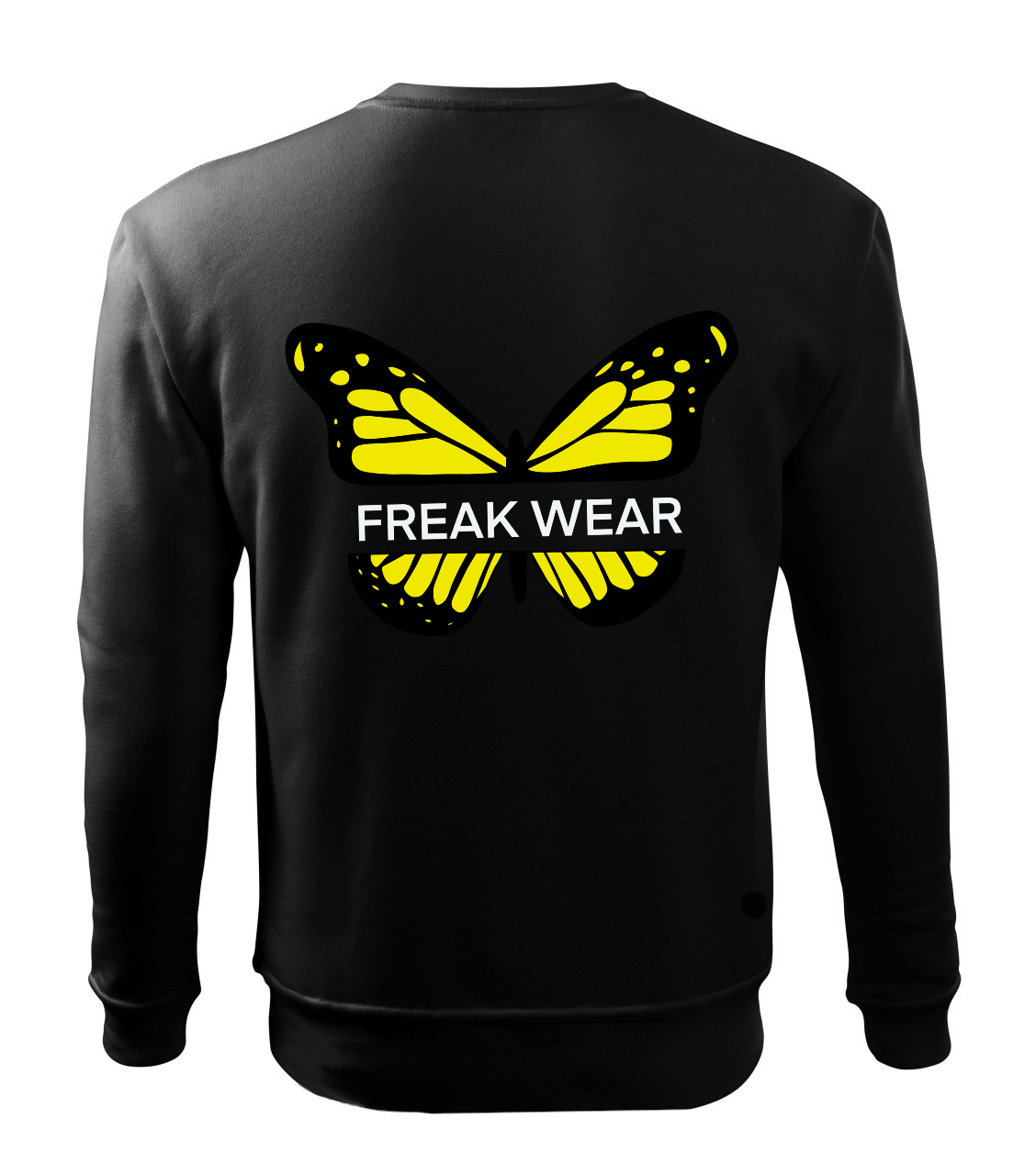 Mikina Freak Wear bez kapuce B yellow