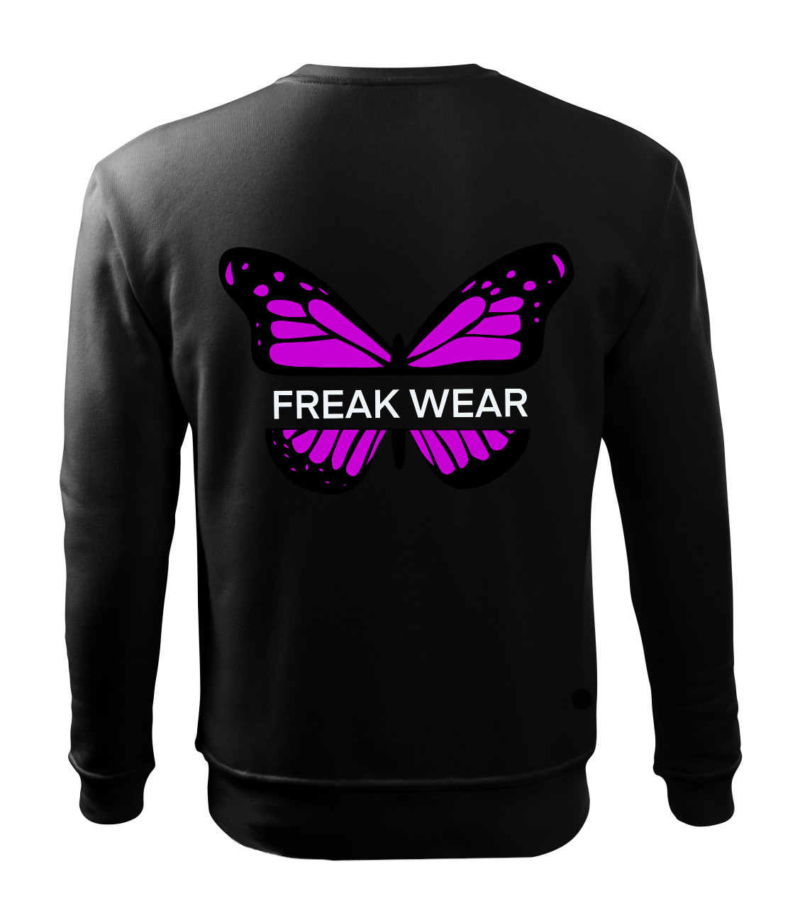Mikina Freak Wear bez kapuce B purple