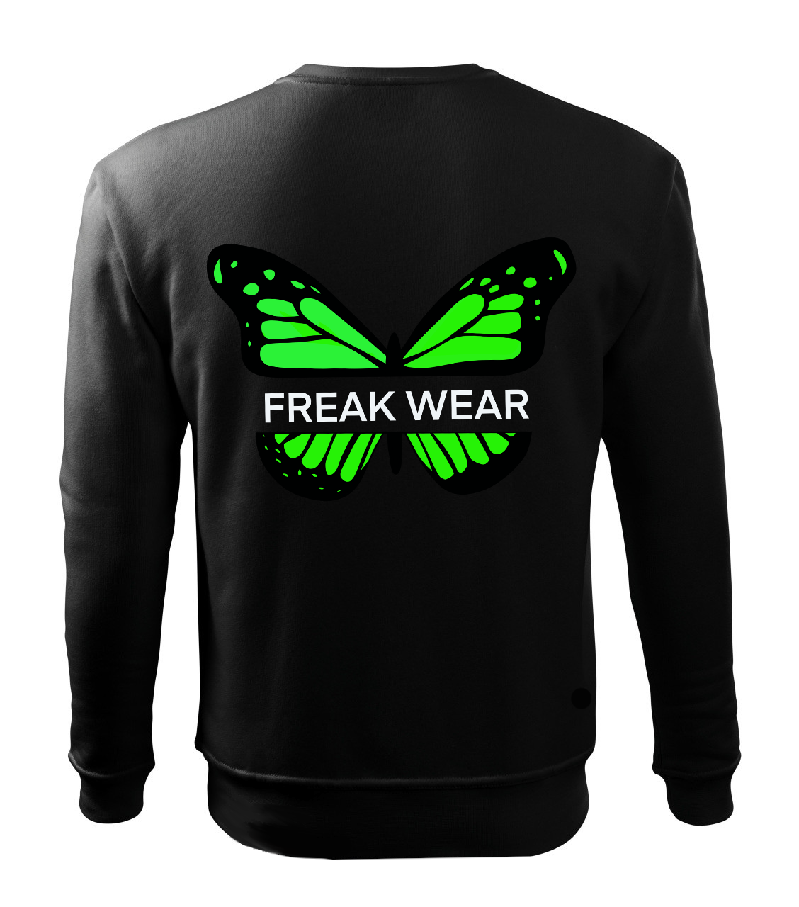 Mikina Freak Wear bez kapuce B green