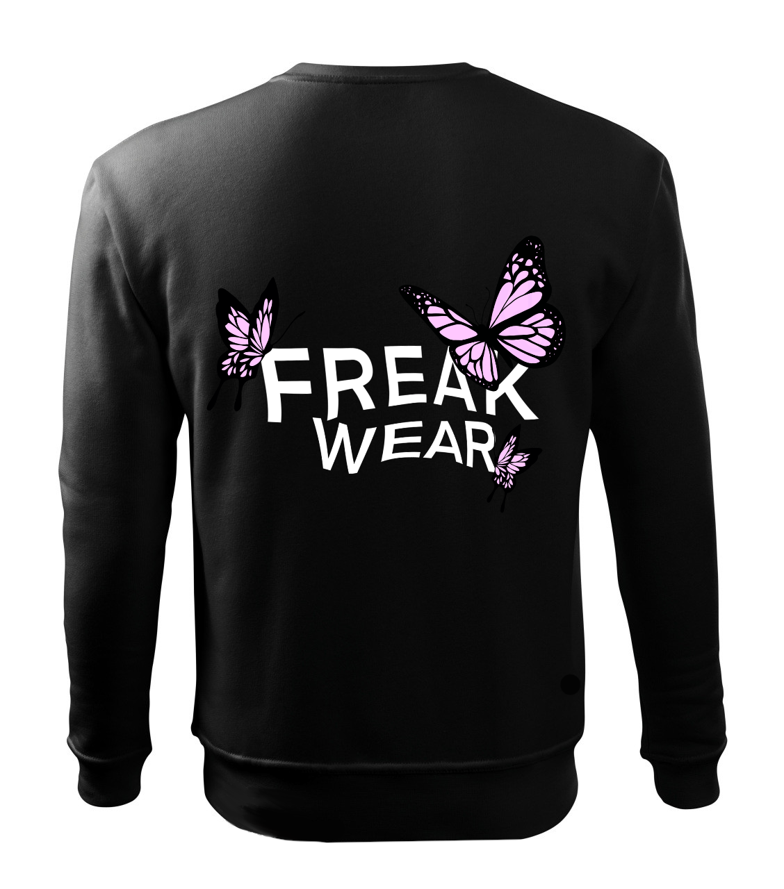 Mikina Freak Wear bez kapuce BL light pink