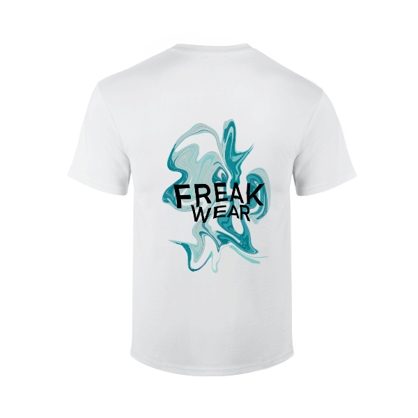 Tričko Freak Wear bíle K Ocean
