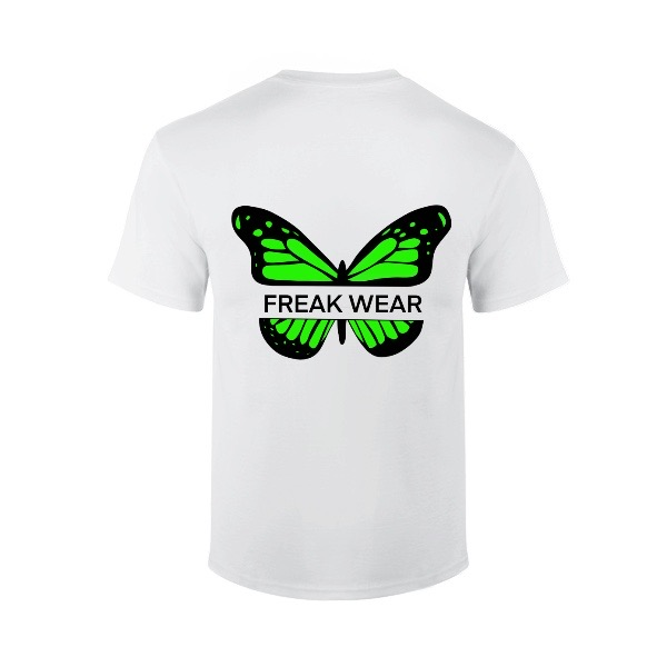 Tričko Freak Wear B Green bíle